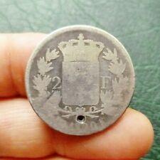 Louis XVIII, Buste nu - 2 Francs - 1820 K  Bordeaux