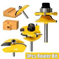1/4 '' professionelle Schaft Hartmetall Router Bit Set Neu