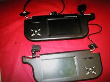 Kfz Sonnenblenden  Monitor R + L Farbe. für DVD Video TV Rückfahrkamera