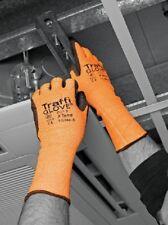 Nivel de corte traffiglove TG384 3 X-guante Puño Largo tienden Naranja Tamaño 9/Grande