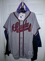 Kelly Johnson Atlanta Braves MLB baseball Jersey ATL tomahawk shirt NEW Large L