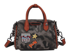 Nicole Lee LAQUANNA PRINT Mini Boston BAG