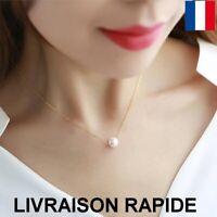 collier pendentif bijoux perle femme anniversaire cadeau fête des mères soirée