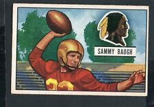 1951 Bowman Football Card #34 Sammy Baugh-Washington Redskins