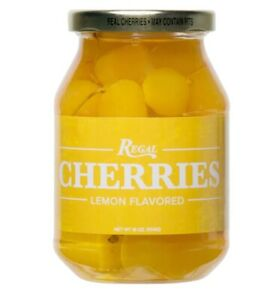 Regal 16 oz. Maraschino Cherries with/without Stems