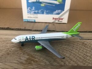 JMC A320 1:500 (Reg G-JMCI) 501736 OG Herpa Wings