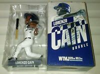 LORENZO CAIN Milwaukee Brewers SGA BOBBLEHEAD ~ NEW IN BOX