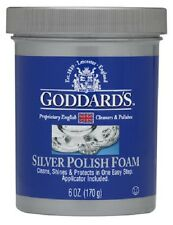 Goddard 2 Pack, 6 OZ Foam Silver Cleaner, Removes Tarnish