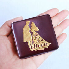 Japan Sankyo Red Wood Engrave ( ANASTASIA)  Music box : ONCE UPON A DECEMBER