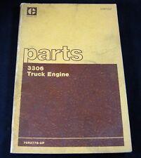 Caterpillar 3306 Truck Engine Parts Manual Book Catalog S/N 76R2779-Up CAT