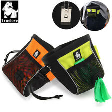 Truelove Portable Training Dog Snack Treat Bag Reflective Travel Clip-on Pouch
