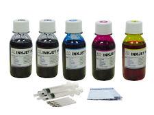5x100ml refill ink for HP564 Officejet 4620 4622 Deskjet 3070A 3520 3521 3522