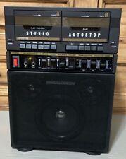 Singalodeon Portable Stero Karaoke Model K-5 Double Cassette Players New