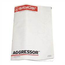 Spyder Aggressor Paintball Gun Users Guide Owners Operation Instruction Manual