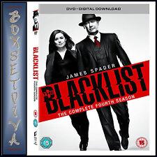 THE BLACKLIST - COMPLETE SEASON 4  - FOURTH SEASON *BRAND NEW DVD***