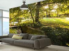 Photo Wallpaper Autumn Scene GIANT WALL DECOR PAPER POSTER FOR BEDROOM