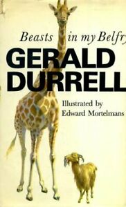Beasts in My Belfry by Durrell, Gerald Hardback Book The Fast Free Shipping