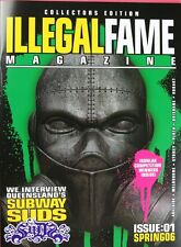 ILLEGAL FAME ISSUE 1 - MINT - AUSTRALIAN GRAFFITI ART MAGAZINE. IRONLAK