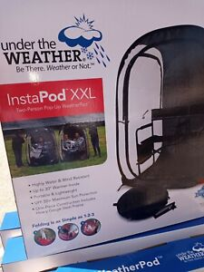 Instapod XXL Under the Weather 2 Person Pop Up Weatherpod Canopy Easy Set Up