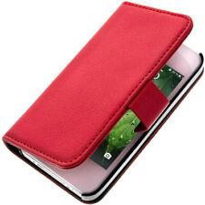 Funda libro billetera para Apple iPhone 4 , Apple iPhone 4S - Roja
