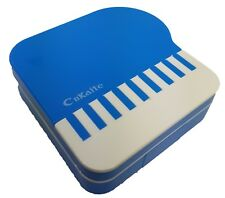 Blue Piano Coloured Contact Lens Lenses Travel Kit - Mirror - Case - Tweezers