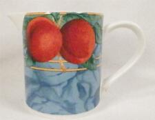 Forbidden Fruit Creamer Cream Pitcher Victoria & Beale 9024 Porcelain Colorful