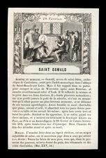 santino incisione 1800 S.OSWALDO