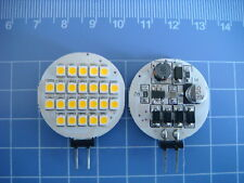 10pcs G4 Bi-Pin LED Light Bulb 24-1210 SMD LED Lamp AC/DC 12-24V Warm White