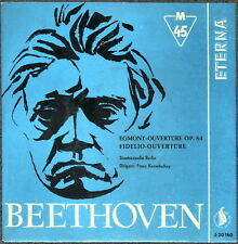 BEETHOVEN - Egmont op.84 Fidelio - EP Schallplatte Top - Sammlerstück selten rar