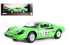 ELITE 1971 FERRARI DINO 246 GT # 83 NURBURGRING 1/18 DIECAST CAR T6268
