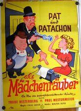 PAT UND PATACHON ALS MÄDCHENRÄUBER (WA-Kinoplakat / Filmplakat '50er)