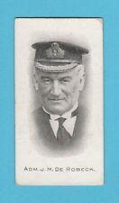 MILITARY - TADDY - ADMIRALS & GENERALS (S.A.) - CARD NO. 18 VAR - ROBECK -  1914