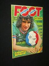 FOOT SUPPORTER MAGAZINE N° 3 GUIDE 20 EQUIPES SAISON 1976-1977 + POSTER ASSE