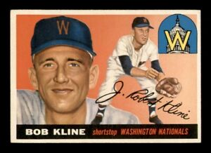 1955 Topps Set Break # 173 Bob Kline EX *OBGcards*