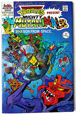 TMNT presents Mighty Mutanimals Invasion from Space (1991 Archie) Signed
