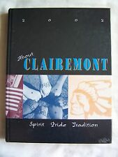 2002 CLAIREMONT HIGH SCHOOL YEARBOOK SAN DIEGO, CALIFORNIA  KENDRA WILKINSON