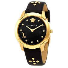 Versace Audrey Quartz Black Dial Ladies Watch VELR00319