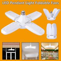 Foldable 246 LED Ceiling Fan Light E27 White Lamp Angle Adjustable Energy Saving