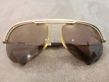 RODENSTOCK AVIATOR Sunglasses Model LOCARNO Color Silver  BROWN Lenses 62-17