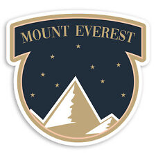 2 x 10cm Mount Everest Mountain Vinyl Stickers Himalayas Luggage Sticker #34683