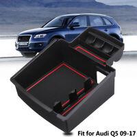 Car Center Control Storage Armrest Organizer Glove Box For Audi Q5 2009-2017