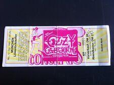 OZZY OSBOURNE used Ticket 12.12.1983 München/Germany - Black Sabbath