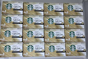 STARBUCKS Vanilla Caffe Latte K-Cups 96 count Best Before June 2020