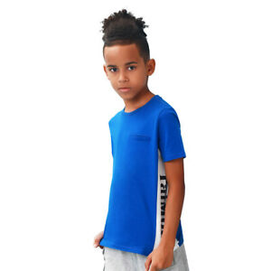 TaiMoon100% Cotton Short Sleeve Soft Breathable T-shirt Tops For Kids Boys
