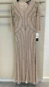 Stunning beaded evening dress for Engagement or Mother of the bride