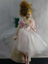 Porcelain Ballerina Christmas Tree Topper