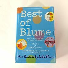 Best of Blume: Judy Blume Boxed Set 4 Titles Popular Margaret Blubber