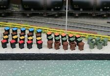 More details for modern wheelie bins - all colours - oo gauge 1/76 - bulkscene - pack of 40