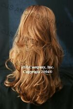 Luscious Layered extra long fox Strawberry Blonde and Ginger mix WIG WAAH 27c29