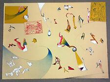 Jan Voss, Hommage a Picasso, signiert und datiert ´72, Lithografie